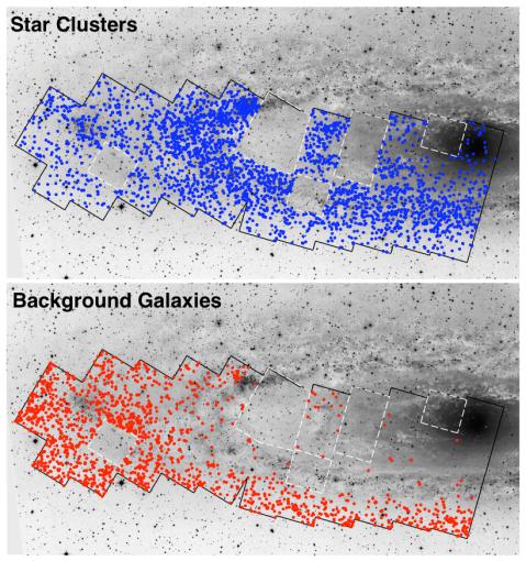 Andromeda Project: Preliminary Catalog